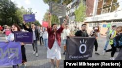 Против «черновика Назарбаева». Акции в День Конституции