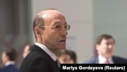 Александр Машкевич, один из основателей Eurasian Natural Resources Corp. (ENRC), на экономическом форуме в Нур-Султане. 16 мая 2019 года.