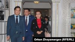 Дарига Назарбаева прибывает на спектакль Театра особенных актеров из Петропавловска. Нур-Султан, 25 декабря 2019 года.