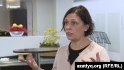 Консультант международной правозащитной организации Amnesty International в Центральной Азии Татьяна Чернобиль. Нур-Султан, 11 декабря 2019 года.