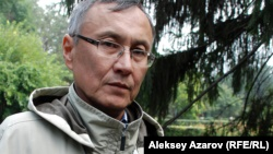 Бывший дипломат политолог Казбек Бейсебаев.