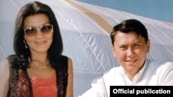 Старшая дочь Нурсултана Назарбаева Дарига и ее муж Рахат Алиев.