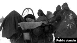 Казахи в годы Голода начала 1930-х.