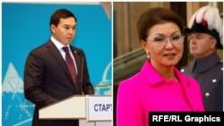Нурали Алиев и Дарига Назарбаева.